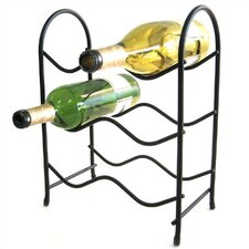 <strong>Spectrum Diversified</strong> Metro 6 Bottle Tabletop Wine Rack