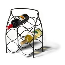 <strong>Spectrum Diversified</strong> Neko 6 Bottle Wine Rack