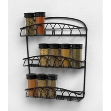 Twist Wall Mount Spice Rack