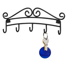 Scroll Wall Mount Key Rack