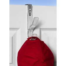 <strong>Spectrum Diversified</strong> Over the Door Adjustable Hat & Coat Hook