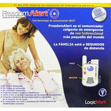 <strong>LogicMark</strong> FreedomAlert Spanish Emergency Pendant Communicator