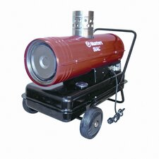 Temporary 91,750 BTU Forced Air Utility Diesel / Kerosene Space Heater