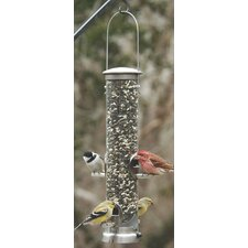 <strong>Aspects Inc</strong> Quick-Clean Medium Seed Tube Feeder in Nickel