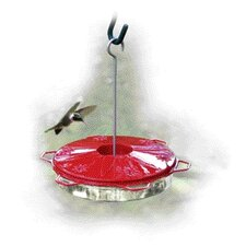 Classic Humming Bird Feeder in Red