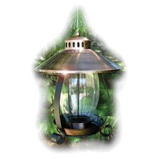 Lantern Bird Feeder in Brown