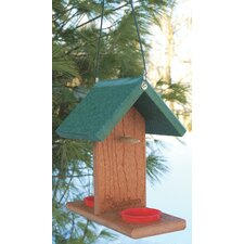 Go Green Oriole Bluebird Feeder in Green