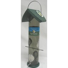 <strong>Audubon/Woodlink</strong> Go Green Thistle Tube Feeder in Green