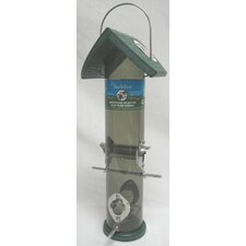 Go Green Mixed Seed Tube Feeder in Green