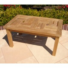 <strong>Royal Teak by Lanza Products</strong> Teakwood Chippendale Coffee Table