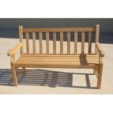 <strong>Royal Teak by Lanza Products</strong> Kensington Teak Garden Bench