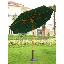 <strong>Royal Teak by Lanza Products</strong> 9' Market Umbrella
