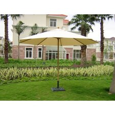 <strong>Royal Teak by Lanza Products</strong> 13' Auto Lock Market Umbrella