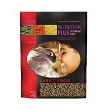 Nutrition Plus Supreme Rabbit Food - 4 lbs