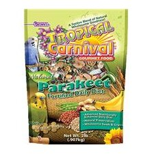 Tropical Carnival Natural Parakeet Food - 2 lbs