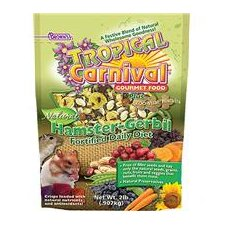 Tropical Carnival Natural Hamster and Gerbil Food - 2 lbs