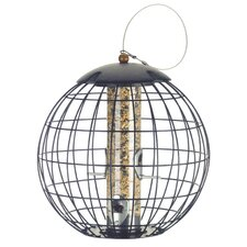 Squirrel Proof Seed Caged Bird Feeder