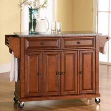 <strong>Crosley</strong> Kitchen Cart with Granite Top