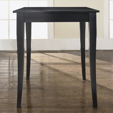Cabriole Leg Pub Table in Black