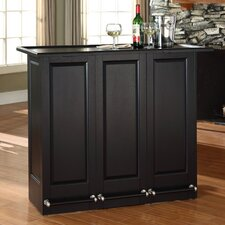 Mobile Folding Bar in Black