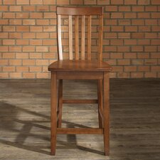 "<strong>Crosley</strong> School House 24"" Bar Stool"