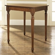 Turned Leg Counter Height Pub Table