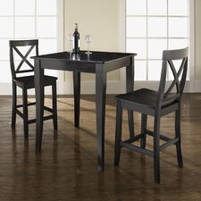 <strong>Crosley</strong> 3 Piece Pub Table Set