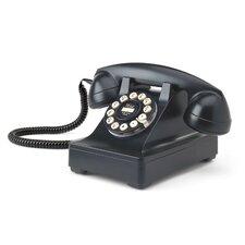 302 Classic Black Desk Phone