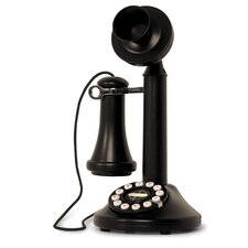 The Candlestick Phone in Black