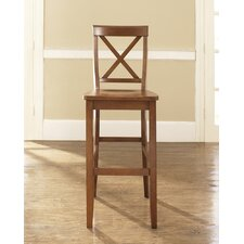 "X-Back 30"" Barstool in Classic Cherry"