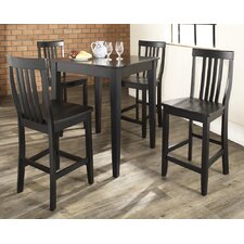 <strong>Crosley</strong> 5 Piece Counter Height Dining Set