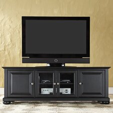 Open Box Price Alexandria 60' TV Stand in Vintage Mahogany
