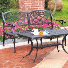 Sedona Aluminum Garden Bench