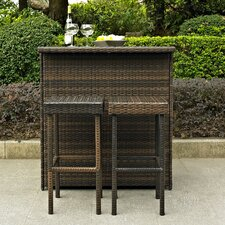 <strong>Crosley</strong> Palm Harbor 3 Piece Bar Set