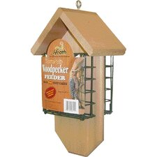 Woodpecker Suet Cake Bird Feeder