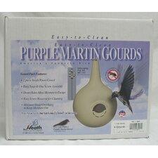 Purple Martin Gourd Round Hole