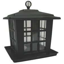 Black Mountain Lantern Feeder in Black