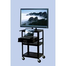 "<strong>VTI</strong> TV Cart  with Storage Cabinet for up to 32"" Flat Panel TVs"