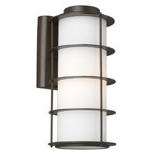 <strong>Philips Forecast Lighting</strong> Hollywood Hills 1 Light Outdoor Wall Sconce