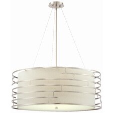 <strong>Philips Forecast Lighting</strong> Labyrinth 4 Light Drum Pendant