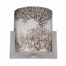 "10"" Bow Acrylic Wall Sconce Shade"