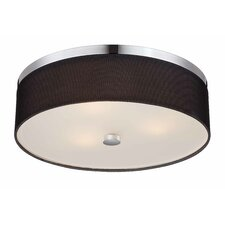 Fishnet 3 Light Flush Mount