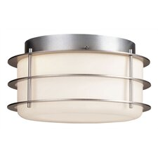 <strong>Philips Forecast Lighting</strong> Hollywood Hills 2 Light Outdoor Flush Mount