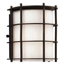 Hollywood Hills 2 Light Outdoor Wall Sconce