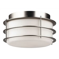 Hollywood Hills 2 Light Outdoor Flush Mount
