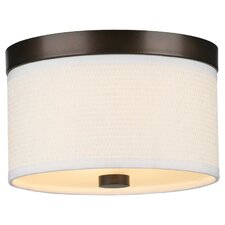 <strong>Philips Forecast Lighting</strong> Cassandra 2 Light Flush Mount