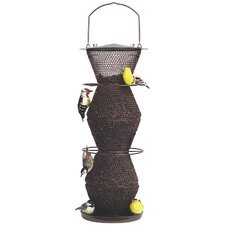 No / No 5-Tier Caged Bird Feeder