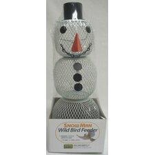 No / No Snowman Decorative Bird Feeder (Set of 6)