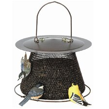 Original Feeder with No Roof in Bronze