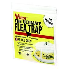 Victor The Ultimate Flea Trap Refill (Set of 3)